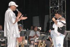 Dźwięki dźwięki, Ali 'Ollie' Woodson, Ali Woodson, Ali Woodson, Ali 'Ollie' Woodson, Aretha Franklin (Ollie) Zdjęcia Royalty Free