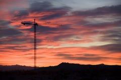 dźwig wieży fotografia stock