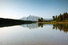 dźwigarki jezioro dwa fotografia royalty free
