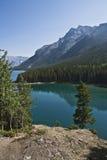 dźwigarki jezioro dwa Zdjęcia Royalty Free