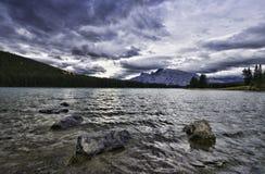 dźwigarki jezioro dwa Fotografia Stock
