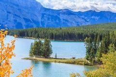 dźwigarki jezioro dwa Zdjęcie Stock