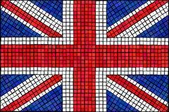 dźwigarki mozaiki zjednoczenie Fotografia Royalty Free