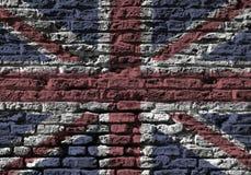 dźwigarki zjednoczenia ściana Obrazy Royalty Free