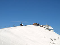 dźwignięcia góry narta śnieżna Zdjęcie Stock
