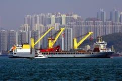 dźwignięcie ciężki statek Obraz Royalty Free