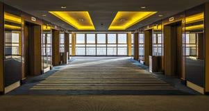 Dźwignięcie lobby Zdjęcia Royalty Free
