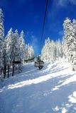 dźwignięcie narta Obraz Royalty Free