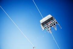 dźwignięcie narta Zdjęcie Royalty Free