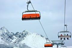 dźwignięcie narta Obrazy Stock