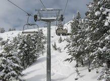 dźwignięcie narta Zdjęcia Stock