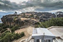 Dźwignięcie w Meteor w Grecja Obrazy Stock