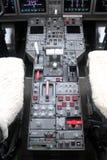 Dźwignia i deska samolot obrazy royalty free