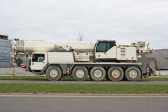 dźwigowa ciężarówka Obraz Stock