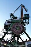 dźwigowy dockside zdjęcia stock