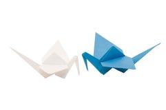 dźwigowy origami obraz royalty free