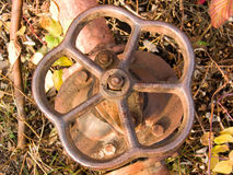dźwigowy rurociąg Fotografia Stock