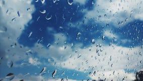 dżdżysty niebo Zdjęcia Royalty Free