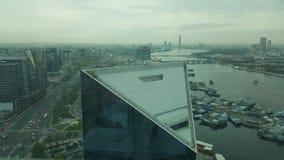 Dżdżysty ranek w Dubaj Obrazy Stock