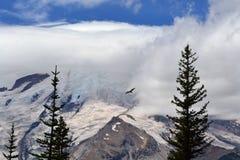 Dżdżysty szczyt Góra Zdjęcia Royalty Free
