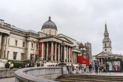 Dżdżysty w Londyn Fotografia Stock