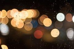 Dżdżysty wieczór Obraz Stock