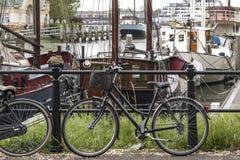 Dżdżysty wiosna dzień w Rotterdam Fotografia Royalty Free