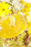 dżemu kolor żółty Obrazy Stock
