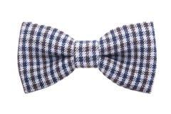 Dżentelmen kropki łęku krawat odizolowywający na białym tle fotografia stock