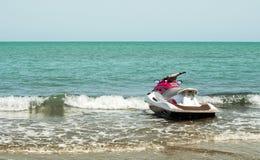 Dżetowa łódź Zdjęcia Royalty Free