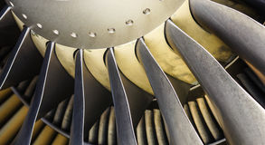Dżetowa turbina Obraz Stock
