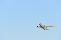 Dżetowego samolotu odlot Obraz Royalty Free