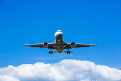 Dżetowy lądowanie Zdjęcia Stock