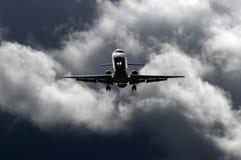 dżetowy samolot zdjęcie royalty free