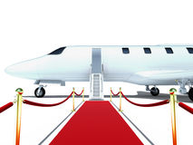 dżetowy samolot Fotografia Stock
