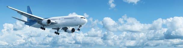 Dżetowy samolot obrazy stock