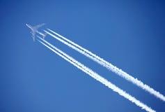 Dżetowy samolot obraz royalty free