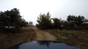 Dżip w górach pro zdjęcie wideo