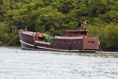 Dżonki łódź Obraz Royalty Free