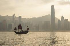 Dżonki łódź Fotografia Royalty Free