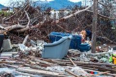 Dżonki miejsca wskazująca katastrofa Zdjęcia Royalty Free
