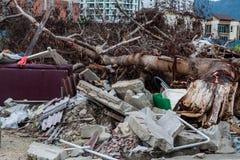 Dżonki miejsca wskazująca katastrofa Zdjęcie Stock
