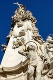 Dżumowa kolumna na Bud wzgórzach, Budapest, Węgry Obraz Royalty Free