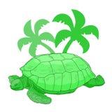 Dżungla żółw Zdjęcie Royalty Free