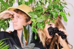 dżungla gubjąca Zdjęcia Royalty Free