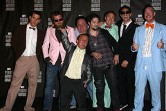 """3-D"""" Form """"des Esels an der MTV-Videomusik 2010 spricht Presse-Raum, Nokia-Theater L.A. LIVE, Los Angeles, CA 08-12-10 zu Lizenzfreie Stockfotografie"""