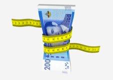 3D与剪刀的摩洛哥货币 皇族释放例证