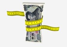 3D与剪刀的日语 向量例证