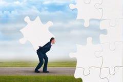 3d企业概念高难题质量回报 免版税图库摄影