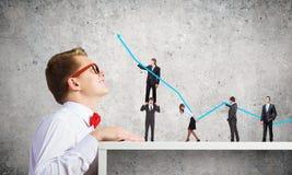 3d企业照片回报了结构 免版税库存图片